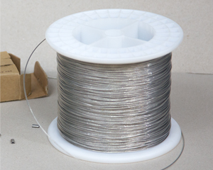 "1000' spool 1/32"" D stainless steel hang wire"