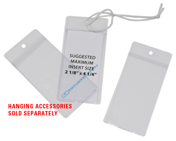 Business Card Clear Vinyl Luggage Tag Holder